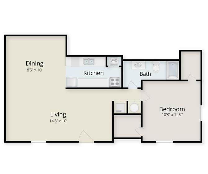 courtyard-west-1-bedroomb